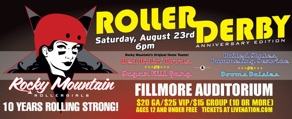Rocky Mountain Rollergirls 10th Anniversary Double-Header